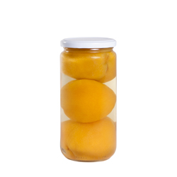 Whole peaches in light 3 pieces 720 ml