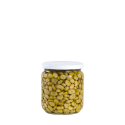 11mm baby broad beans fried in olive oil B-370 ml