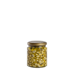 11mm baby broad beans fried in olive oil B-250 ml