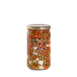 Mixed vegetables 580 ml
